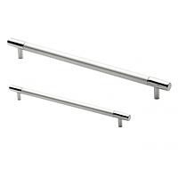 Ручка для мебели 128 мм AL/PC (1026)