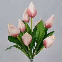 Букет нежно-розовых тюльпанов 42см Цветы искусственные