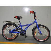 """Двухколесный велосипед Profi Racer Синий 14"""" (G1433) с закрытой цепью"""