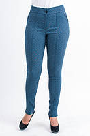 Женские брюки с геометрическим рисунком