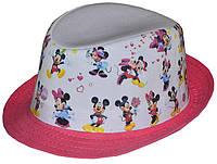 Шляпа детская челентанка фотопринт Мини-Маусы