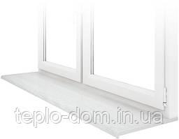 Подоконник премиум-класса Lalbero Bianco (200 мм) — белое дерево