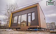Дом из модульных блоков , Модульные дома для круглогодичного проживания под ключ, Модульные дома из блок