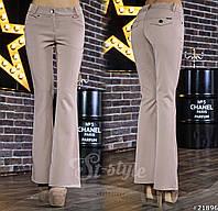 Женские трендовые расклешенные брюки, фото 1