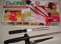 Нож для ровной нарезки Deli Pro