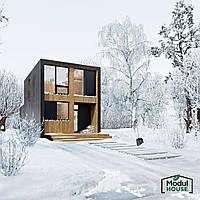 Модульное строительство домов, Модульные всесезонные дома от производителя,Модульный каркасный дом всесезонный