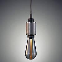 Светодиодная лампа LED BUSTER BULB  (3w) (серый - металлик)