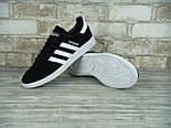 Кроссовки Adidas spezial black white. Живое фото (Реплика ААА+), фото 3