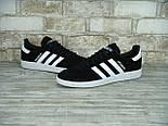 Кроссовки Adidas spezial black white. Живое фото (Реплика ААА+), фото 4