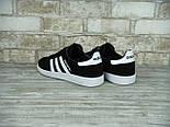 Кроссовки Adidas spezial black white. Живое фото (Реплика ААА+), фото 6