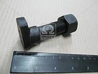 Болт колеса с гайкой (сапожок) чёрный, литой КрАЗ 255Б-3104008-11Ч