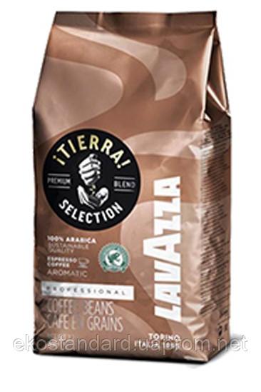 "Кофе в зернах Lavazza Tierra Italy 1 кг - ЧП ""ЭКО стандарт"" в Киеве"