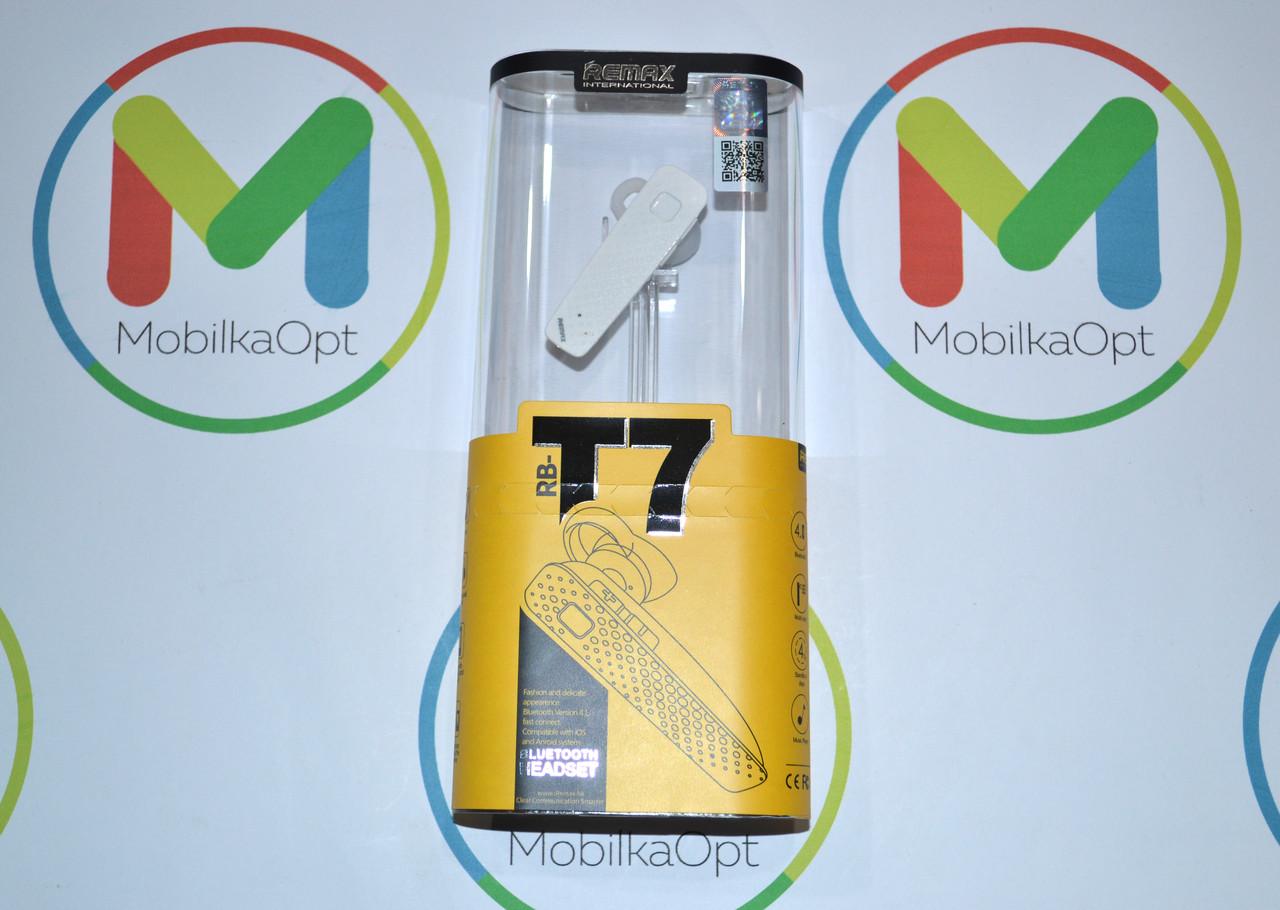 Bluetooth гарнитура Remax RB-T7