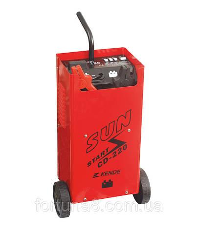 Пуско-зарядное устройство для аккумуляторов FORTE CD-420, фото 2