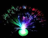 Светодиодный светильник с оптоволокном.