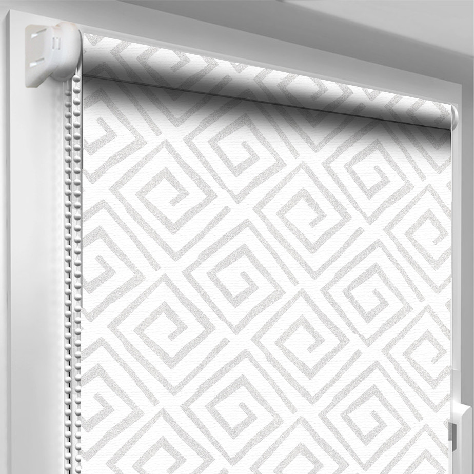 Рулонная штора DecoSharm В1025 Белая