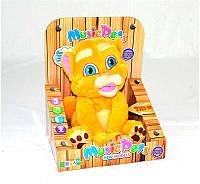 Мягкая игрушка CL 1605 (48) говорит, танцует под музыку, на батарейках, в коробке