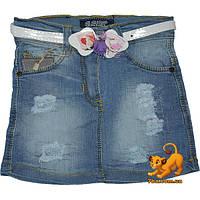 """Детская джинсовая юбка  """"Jeans Style"""" , для девочки (1-5 лет) 5 ед. в уп."""