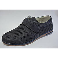 Детские школьные туфли мокасины для мальчиков Размеры 32- 37 35