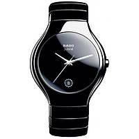 Наручные часы Rado True Jubile керамические  чёрные