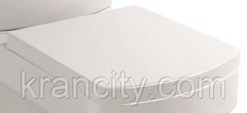 Сиденье с крышкой для унитаза Volle BENITA 13-09-102 (soft clouse),Испания