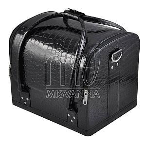 Чемодан, сумка мастера, черный лак