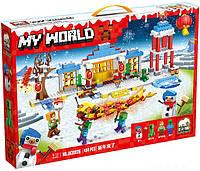 Конструктор Майнкрафт My World JX30026