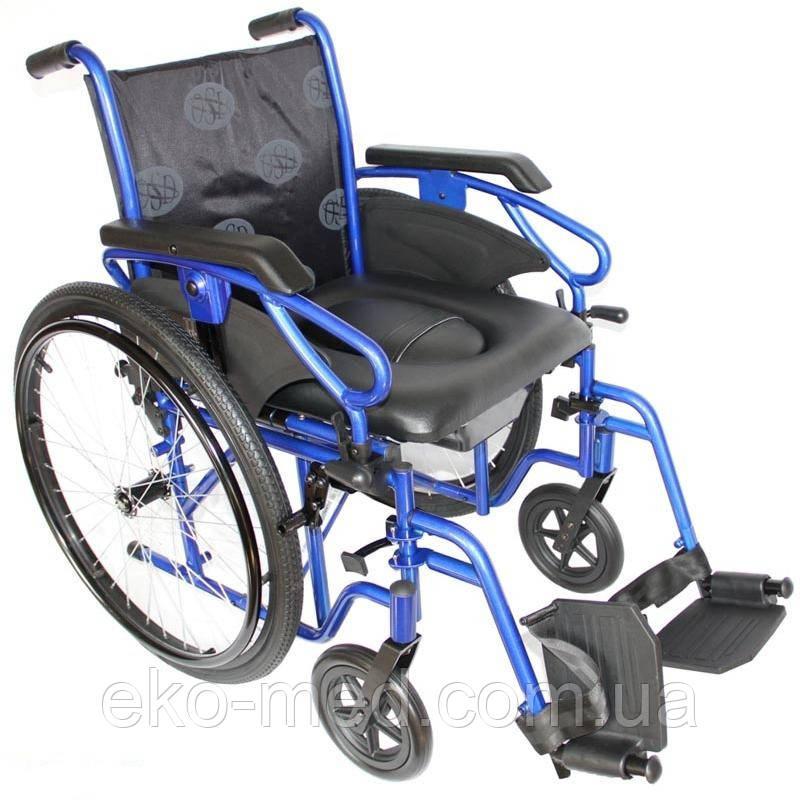 Інвалідна коляска з туалетом OSD Millenium 3 43 см, 45 см, 50 см