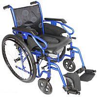 Інвалідна коляска з туалетом OSD Millenium 3 43 см, 45 см, 50 см, фото 1