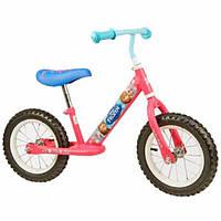 Беговел (Велобег) детский Frozen (FR121) Розовый