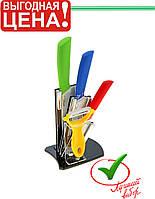 Керамические ножи + овощечистка