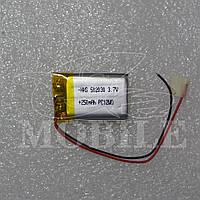 Аккумулятор универсальный (502030) 3.7В (30*20*5 мм) 250мАч