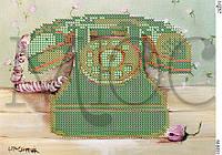 """Схема для вышивки бисером """"Телефон"""""""