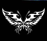 Виниловая наклейка- Бабочка 4 (от 10х10 см)