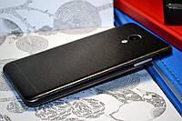 """Виниловая наклейка """"Чёрный металл"""" Meizu M3S (задняя часть) 0,09 mm"""