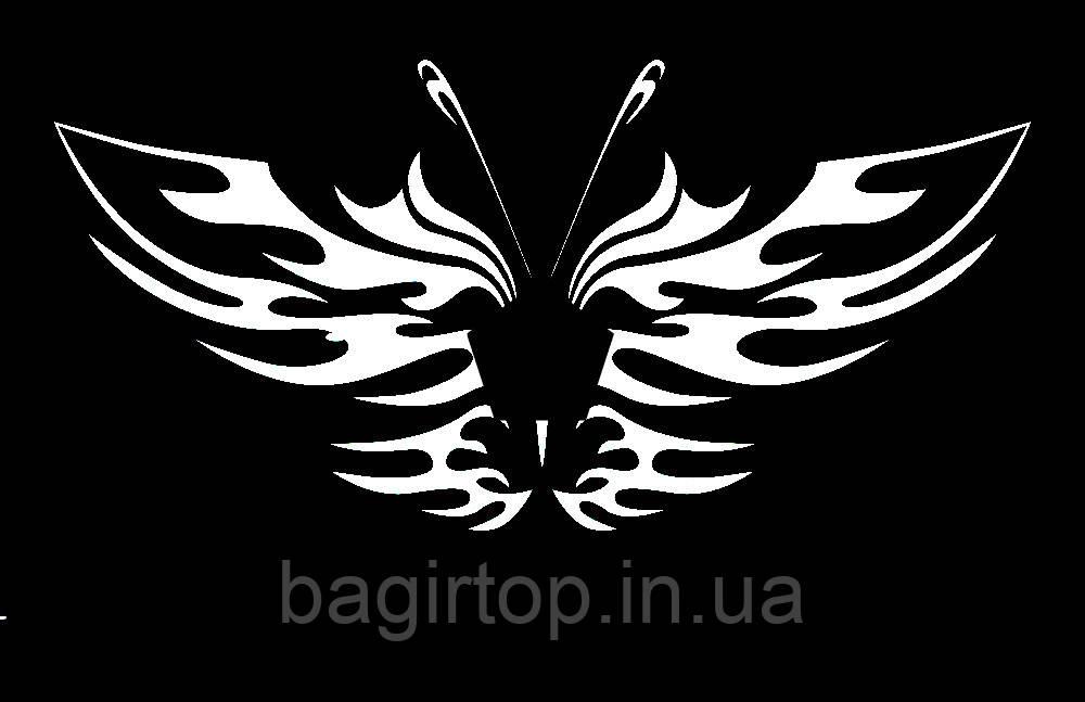 Вінілова наклейка - Метелик 6 (від 10х10 см)