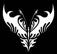 Виниловая наклейка- Бабочка 8 (от 10х10 см)
