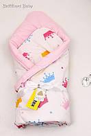 """Зимний стильный конверт-одеяло """"Valleri"""" от производителя"""