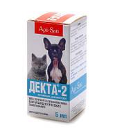 Декта-2 глазые капли для собак и кошек (5 мл)