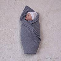 """Летний плед """"Глория"""" вязаный для новорожденных, фото 1"""