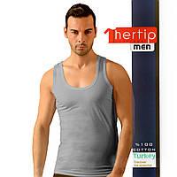 Майка Hertip Турция 541grey мужские майки комплектом
