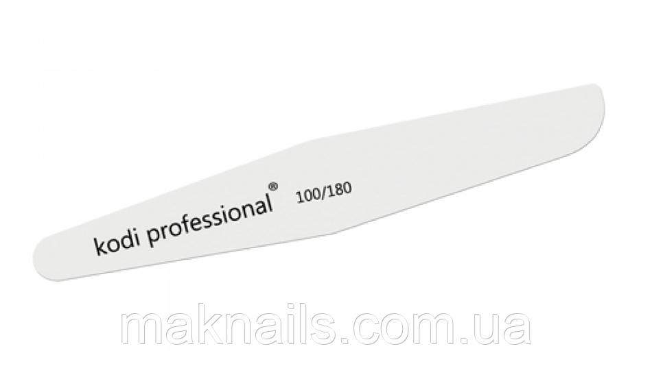 Пилка для ногтей Ромб White 100/180