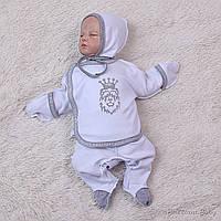 """Набор для новорожденных """"Leo"""" (ползунки,распашонка,чепчик)"""