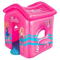 Надувной игровой центр домик Барби