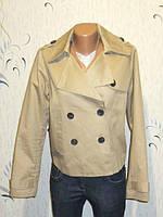 Тренч-Куртка Бежевая от GDM Идеальна для Базового Гардероба Размер: 50-L, XL