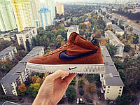 Кроссовки Nike Blazer 2017 High Light Brown мужские