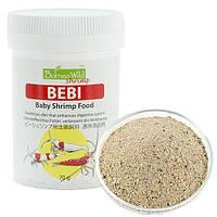 BorneoWild Bebi, корм для новорожденных и молодых креветок в виде порошка