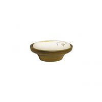 Ручка мебельная кнопка с фарфором 1-133