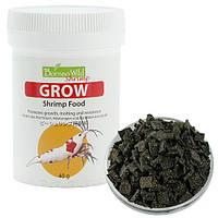 BorneoWild Grow, сбалансированный корм для быстрого роста креветок в пластинках