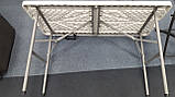 Стіл розкладний Berger m 120×60×70 Німеччина, фото 3